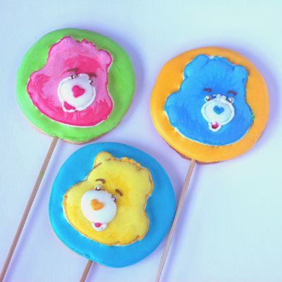 Care Bears Cookie Lollipops