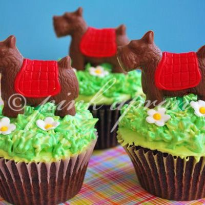 Scottie Dog Cupcakes