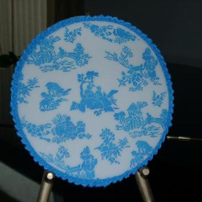 Blue And White 10 Inch Sugar Cookies