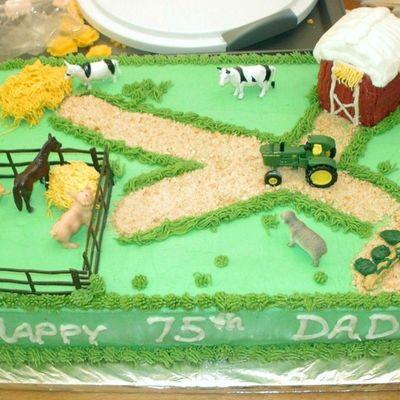 Enjoyable Dad Cake Decorating Photos Birthday Cards Printable Opercafe Filternl