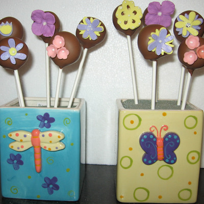 Cake Pops-Flower Bouquet