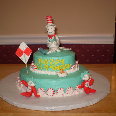 Cat In The Hat Dr Suess's Birthday