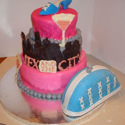 Sex And The City Cake