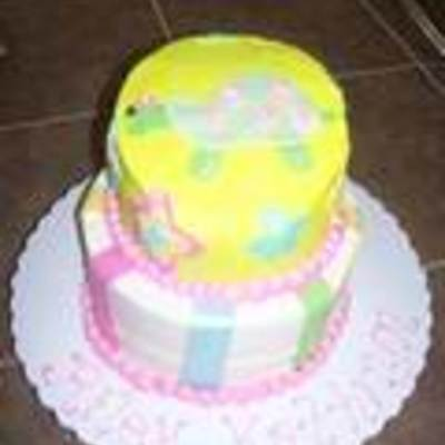 Girls Turtle Birthday Cake