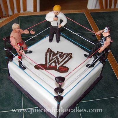 Wrestlemania Cake Ideas
