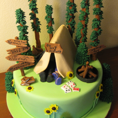 The Camping Cake...