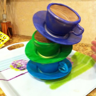 Topsy Teacups, Practicing For An Upcoming Charity Event.