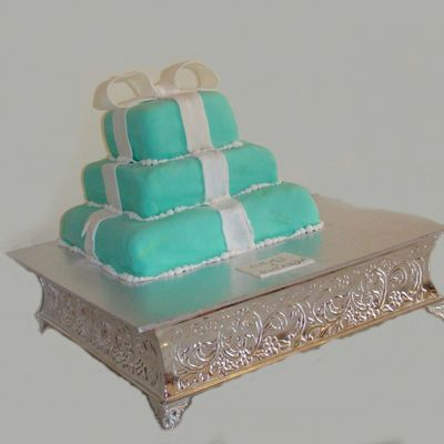 Tiffany Engagement Cake
