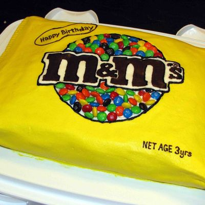 M&m 3D Cake on Cake Central