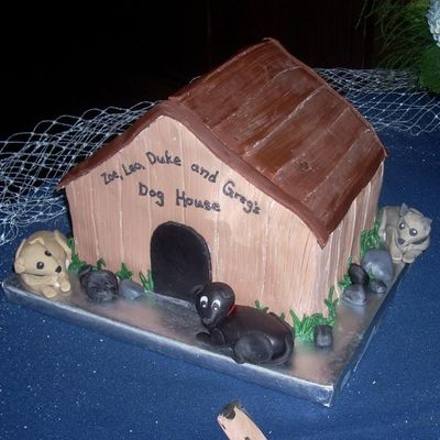 Groom's Cake Dog House