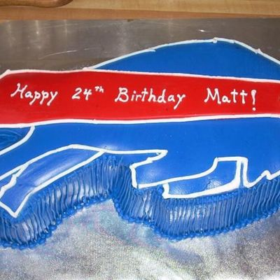 Buffalo Bills Birthday Cake