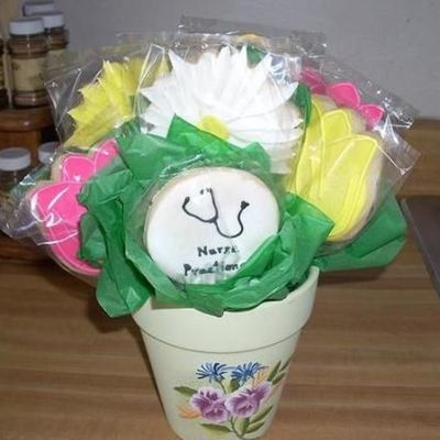 Nurse Practitioner Cookie Bouquet