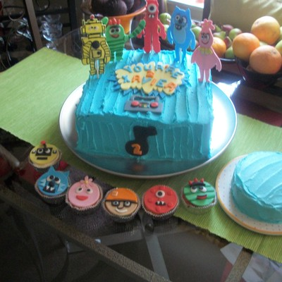 My Great Nephew's 2Nd Birthday. Yo Gabbba Gabba