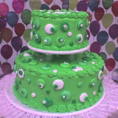 Green Dots on Cake Central