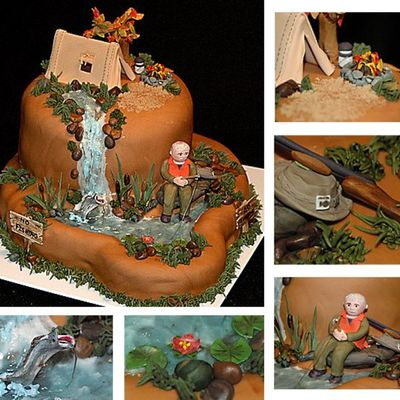 Top Camping Cakes Cakecentral Com