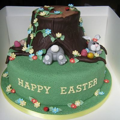 Easter Cake For School Fete