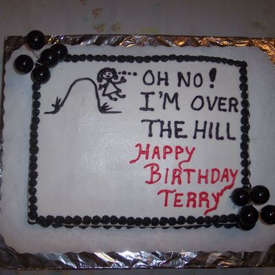 Over The Hill, 50Th Birthday