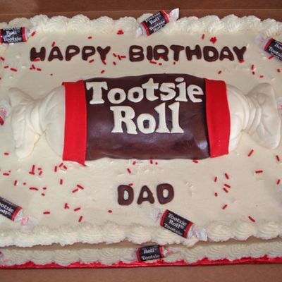 Tootsie Roll Sheet Cake