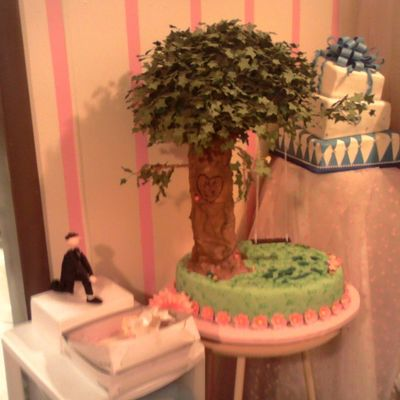 Unfinished Tree Cake