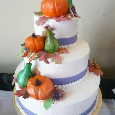 Fall Wedding, Pumpkins And Gourds