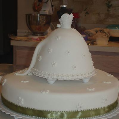 Bride Cake - Front And Side