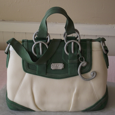 Coach Purse Cake Bag