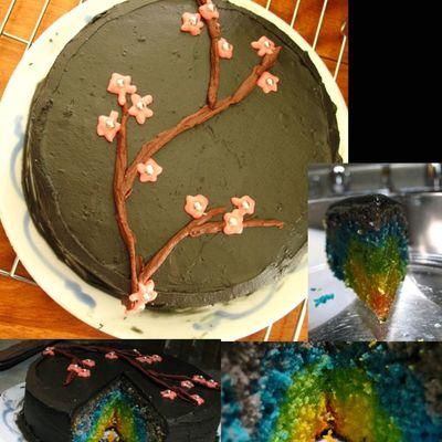 Black Icing Cake Decorating Photos