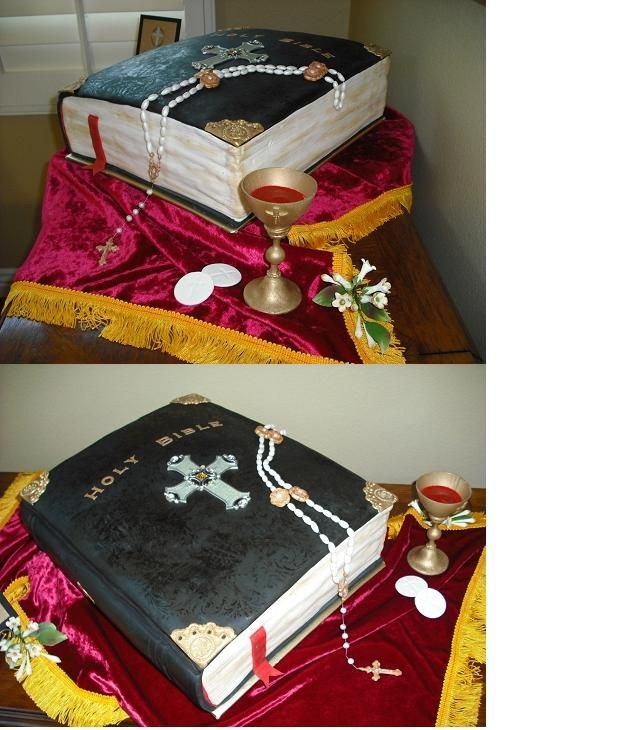 Catholic Confirmation Cake Set
