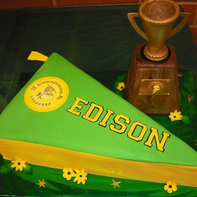 Edison High School Cakes