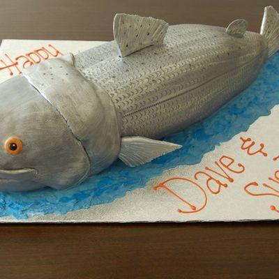 Prime Coho Salmon Birthday Cake By Charmpastry Cakecentral Com Birthday Cards Printable Opercafe Filternl