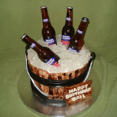 Beer Bucket on Cake Central