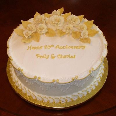 50th Wedding Anniversary Cakes.50th Wedding Anniversary Cake Decorating Photos