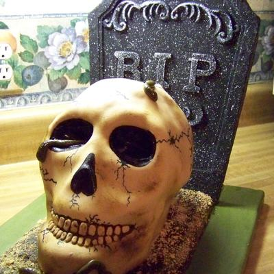 Top Skull Cakes Cakecentral Com