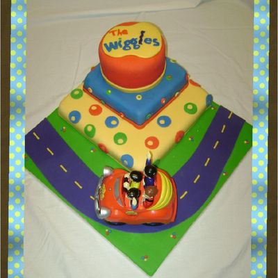 The Wiggles Birthday Cake