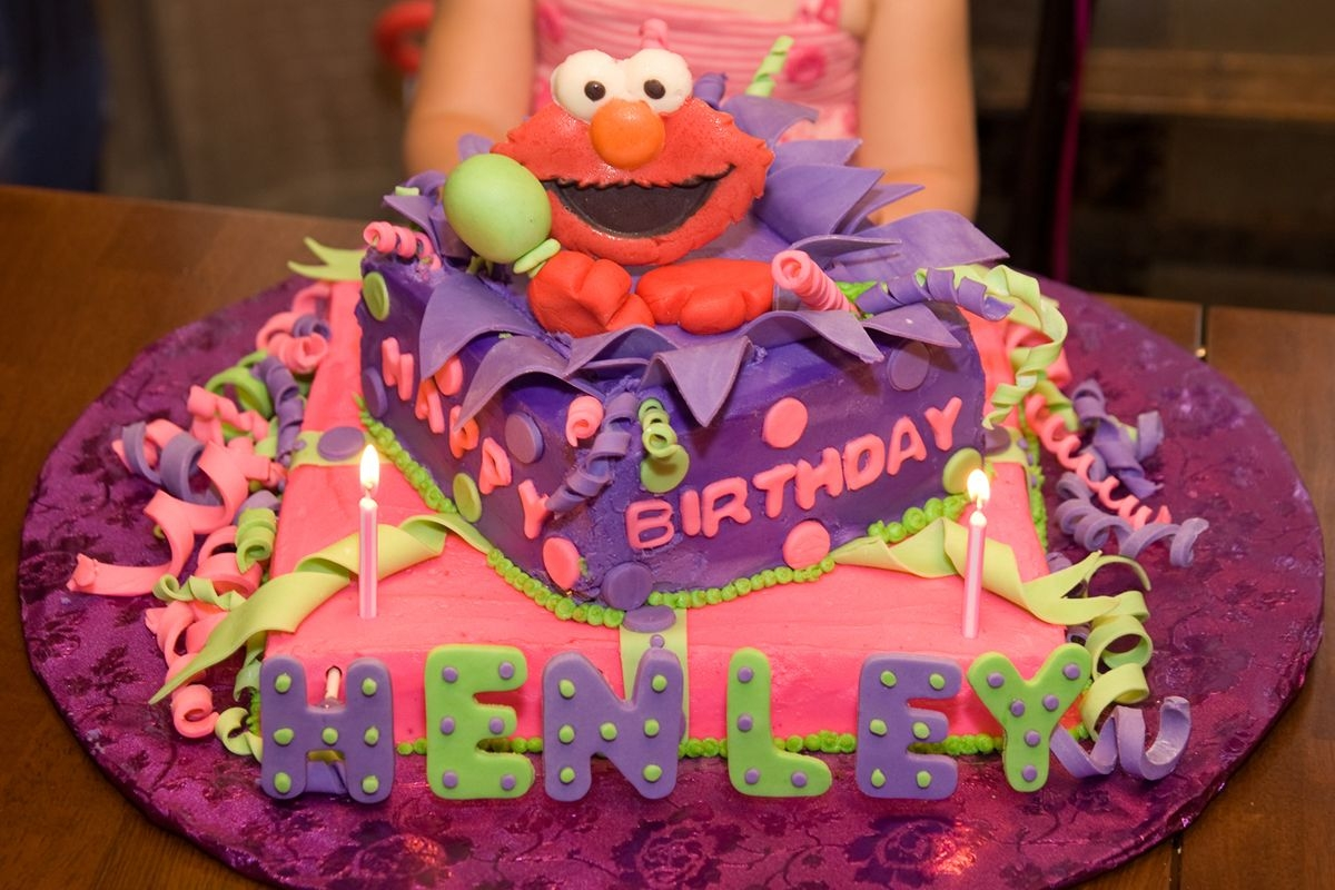 Enjoyable Elmo 2Nd Birthday Cake Cakecentral Com Personalised Birthday Cards Cominlily Jamesorg