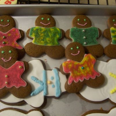 Gingerbread People For Jaden