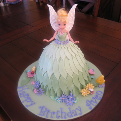 Second Tinkerbell Cake