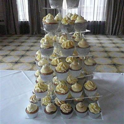 Square Spiral Stand Cupcake Tower