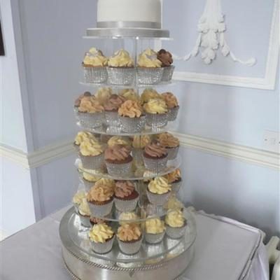 Cupcake Tower Wedding