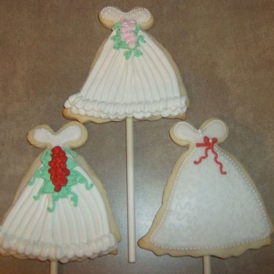 Gown Cookies