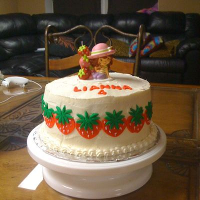 Strawberry Shortcake Bday Cake