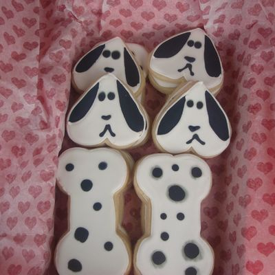Sad? Dalmation Dog Cookies!