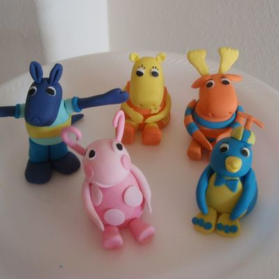 Backyardigans Fondant Figures