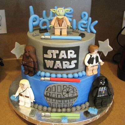 Star wars Cake Decorating Photos