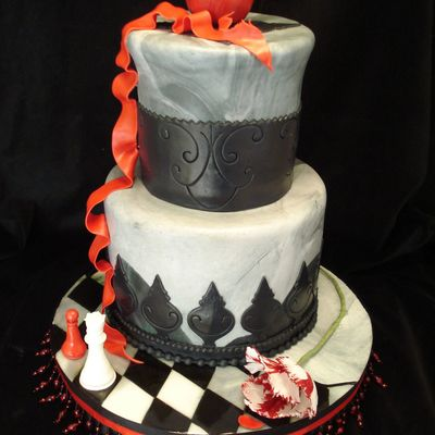 Twilight Sweet 16 Cake