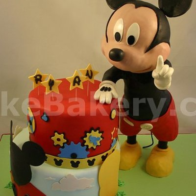 Clubhouse Disney Birthday Cake
