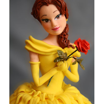 Princess Belle Cake (Beauty And The Beast)
