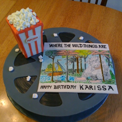 Where The Wild Things Are Movie Cake
