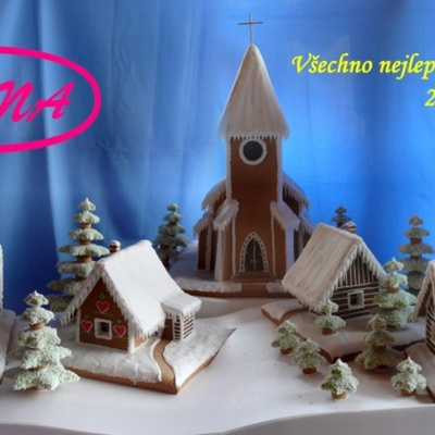 Christmas Gingerbread Idylka