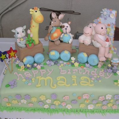 Maia's 1St Birthday on Cake Central